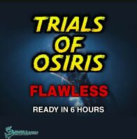 Flawless | Trials Of Osiris | Xbox Ps4 |- Pc Cross Save, Ready In 6 Hours!