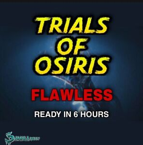 Flawless | Trials Of Osiris | Xbox Ps4 |- Pc Cross Save, Ready This Weekend