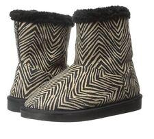 NEW Vera Bradley Cozy Booties in Zebra Print Print  Size 5-6