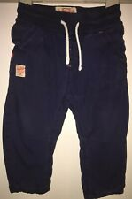 Boys Age 9-12 Months - Next Navy Cargo Trousers