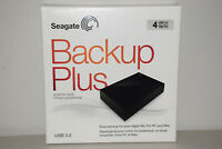 Seagate Backup Plus 4TB Desktop External Hard Drive HD USB 3.0 STDT4000100 Newww