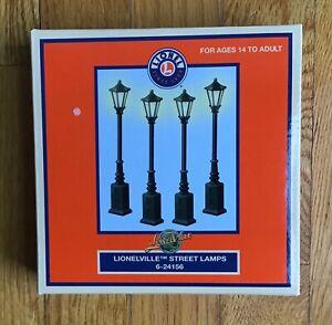 LIONEL 6-24156 LIONELVILLE STREET LAMPS  (NIP)