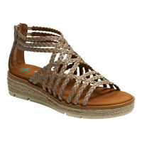 Bare Traps Women's   Bessica Wedge Strappy Sandal