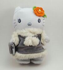 "Hello Kitty Plush Colorful Seasons Winter McDonalds Asia Sanrio 2001 8.5"" HTF"