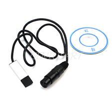 USB a DMX Adattatore di Interfaccia Console Cavo Segnale per DMX-512 Stage Luci