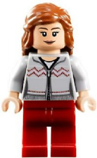 LEGO HERMIONE MINIFIG w/ SWEATER & WAND Harry Potter minifigure set 10217 hp121