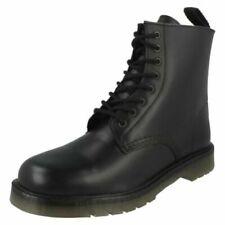 Calzado de hombre militar/con cordones negros