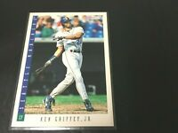 KEN GRIFFEY JR 1993 Score  Baseball Card #1  Seattle Mariners