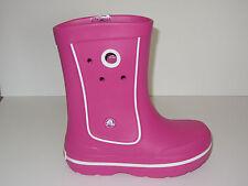 NEW Girls CROCS CROCBAND JAUNT Rain Boots Galoshes Shoes 8/9 10/11 12/13 1 2