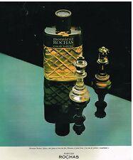 Publicité Advertising 1977 Eau de Toilette pour Hommes Monsieur Rochas