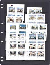 JAMAICA 2005/6 Buildings self adhesive plate blk/4 MNH