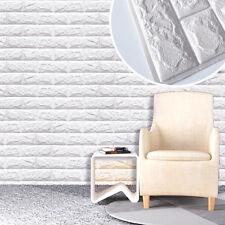 3D DIY PE Ziegel Wandaufkleber Panel Aufkleber Wallpaper DIY Wand Dekor 60x60cm
