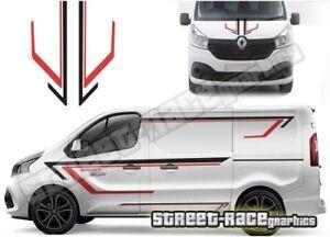 Vauxhall / Opel VIVARO FULL 015 van racing stripes decals vinyl graphics