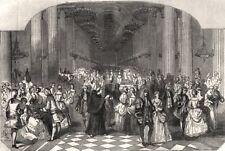 Drama Marco Spada al Princess theatre. il PRINCIPE ORSINI Palazzo riunioni, 1853