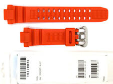 CASIO WATCH BAND: 10370830  BAND FOR GW-3000 Orange Resin Band
