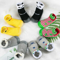 Infant Newborn Baby Boys Girls Cartoon Winter Warm Boots Prewalker Warm Shoes