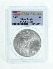 MS69 2006 American Silver Eagle - First Strike - Graded PCGS *701