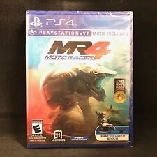 Moto Racer 4 (Sony PlayStation 4, 2017) BRAND NEW / Region Free / PS VR