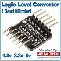4 channel Bi-Directional Logic Level Shifter Converter 3.3V 5V, 1.8V Arduino