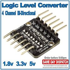4 channel Bi-Directional Logic Level Shifter Converter 3.3V 5V, 1.8V Arduino