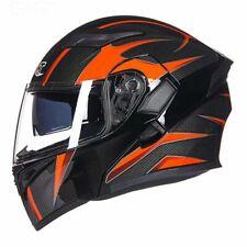 Double Lens Racing Motorcycle Helmet Flip up Motocross Riding Helmets Men Women