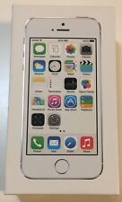 iPhone 5S Original Retail Box - Silver -16G - **EMPTY BOX ONLY**
