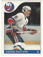 1985-86 OPC HOCKEY #25 DENIS POTVIN - EX+/NRMT-