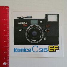 Pegatina/sticker: Konica C 35 EF Camera (04011786)