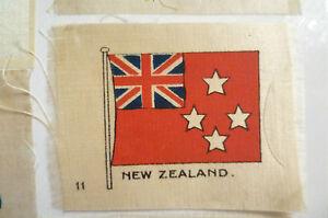 B.D.V. Cigarettes Silk FLAG- NEW ZEALAND FLAG (6.5x5 cm)