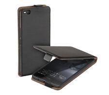 Design Eco Flip-Style Case Tasche für HTC One X9 Schutz Hülle Etui schwarz black