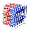 2-4 Pack Soda Can rack organizer Stackable Beverage Dispenser Rack Hold 12 Cans