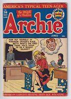 ARCHIE COMICS #38 FN 1949