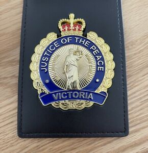 Justice of the Peace Victoria Australia (JP) Badge and ID Wallet