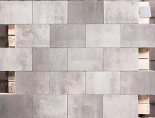 Pflastersteine hydrophobiert Anthrazit Grau Schwarz geflammt, Beton 30x20x6cm