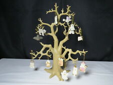 """Lenox Halloween Trick or Treat 12"""" Tree with 12 Ornaments w/Box Packaging Coa"""