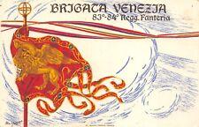 C5769) WW1, BRIGATA VENEZIA, 83 E 84 FANTERIA, BANDIERA DEL LEONE DI SAN MARCO.