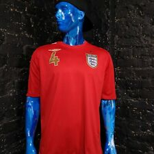 Gerrard England Jersey Away Football shirt 2006 - 2008 Umbro Mens Size XL