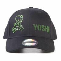Nintendo Super Mario Bros Yoshi Pois Réglable Capuchon Unisexe Noir (BA611807NTN