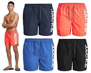 Mens Shorts Jack Jones Swimming Casual Beach Summer Holiday Pool Swimwear S-2XL