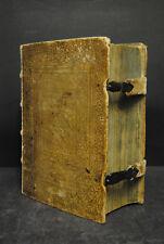 Corpus juris canonici - Basel - König - 1696 - Schweinslederband mit Schließen