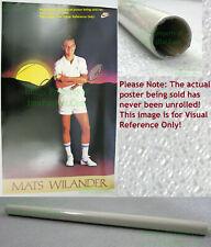 NITF ☆ Vintage ☆ Original ☆ Old Stock ☆ NIKE Tennis Poster ☆ Mats Wilander