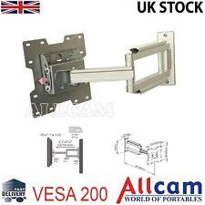 "LCD107 Cantilever 19""-37"" LCD TV Wall Mount Bracket Swivel Arms Tilt Vesa 200"