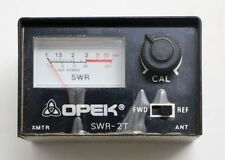 SWR-2T Opek  SWR/RF 10 Watt Power Meter Panel FREE Shipping!
