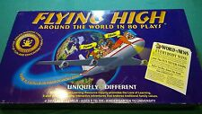 FLYING HIGH AROUND THE WORLD IN 80 PLAYS Family Board Game  Viv Games