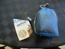 "BestLife tote in a pouch Full size tote rolls up to fit in 3.5"" x 4"" bag /clip"