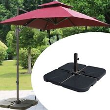 New listing Parasol Base Weights Stand Heavy Duty For Hanging Cantilever Banana Umbrella Us