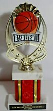 "Basketball Trophy 11"" Tall - Free Engraving"