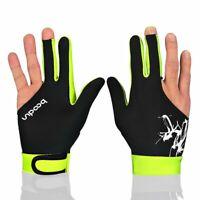 Pool Billiard Gloves Man Woman Predator Cue Right or Left Hand Pool Gloves M