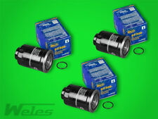 3 x ST306 Kraftstofffilter Dieselfilter TOYOTA CARINA E II NISSAN ALMERA FORD VW