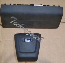 2009-2014 Ford F-150 F150 Wheel Airbag and Dash Airbag Black Combo Pair OEM